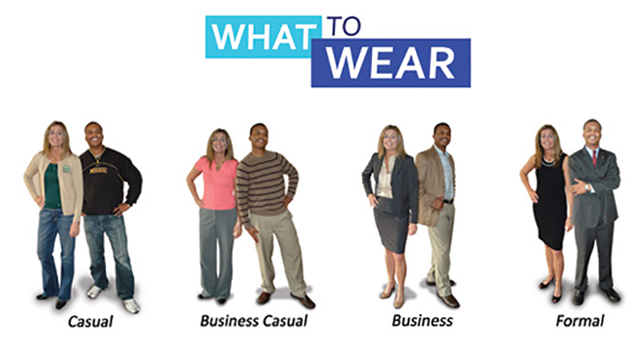 What to wear for an interview